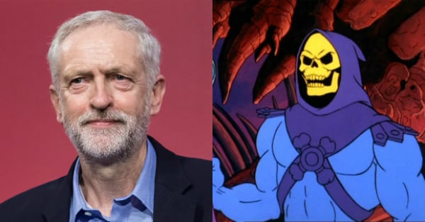 SHAME FOR CORBYN as source confirms Labour leader 'had curry' with SKELETOR in 1991