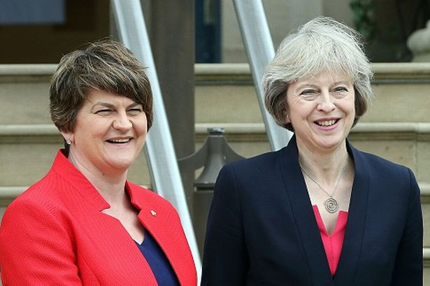 DUP agree deal with Tories as long as Theresa May performs I'M A LITTLE TEAPOT in parliament