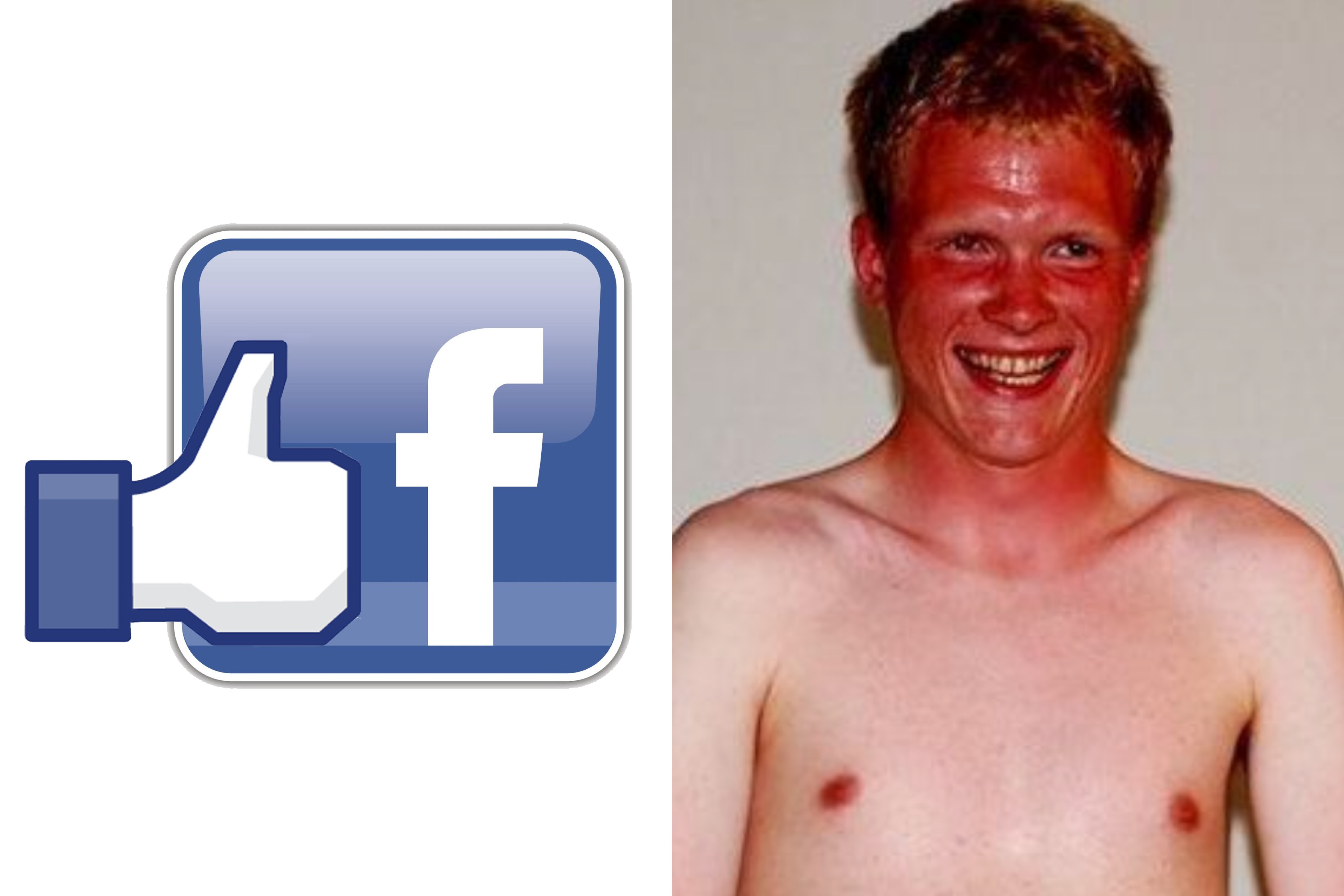 Facebook launches I'M SAFE button for gingers in the heatwave
