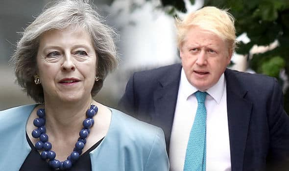 Tory / DUP meeting in CHAOS as Boris keeps coughing 'resign'