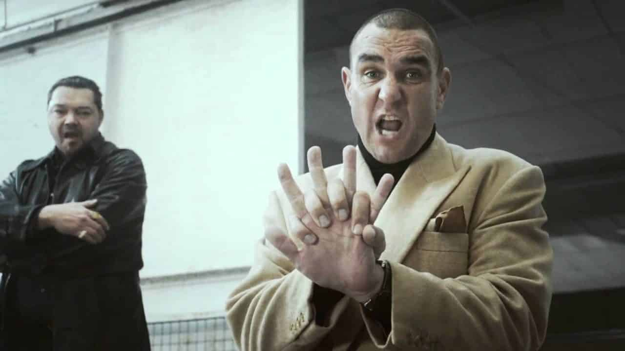 Vinnie Jones claims he was actually filming FOX CPR COMMERCIAL
