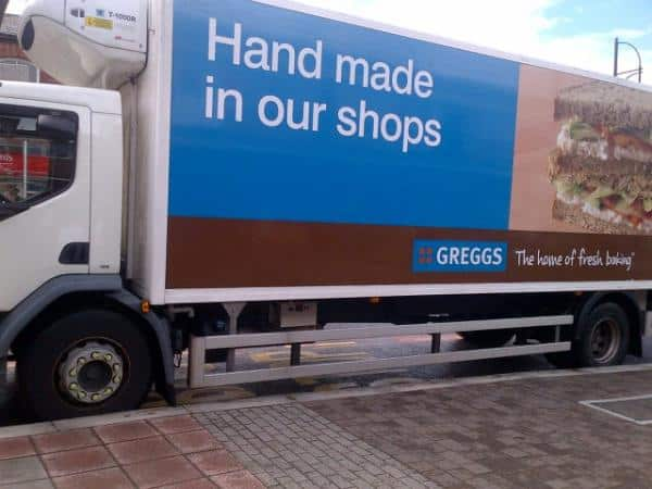 Greggs van HIJACKED by armed attackers outside weight loss camp