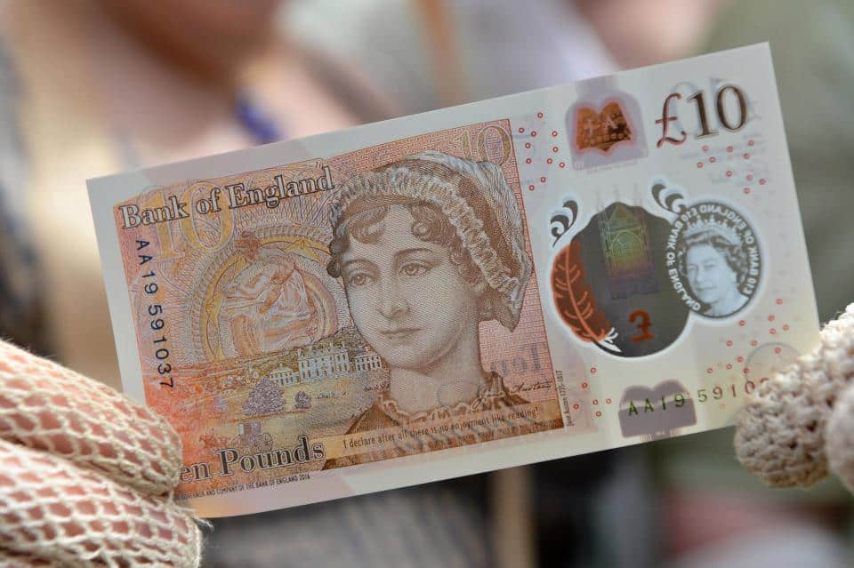 Find out EXACTLY how much your new £10 is worth INSTANTLY!